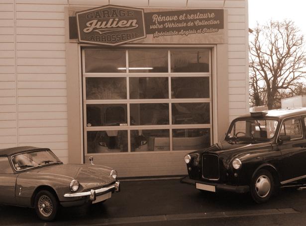 Notre garage hottot les bagues entre caen bayeux et saint l restauration de voitures - Garage de voiture de collection ...